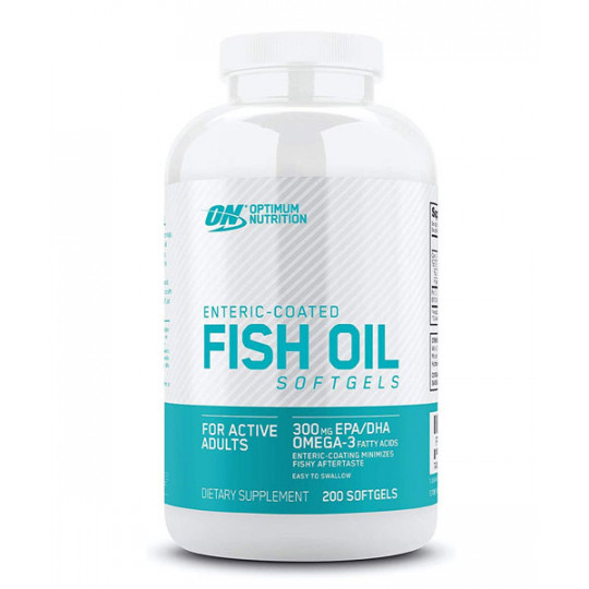 Optimum Nutrition Fish Oil Softgels 200 капсул