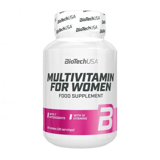Biotech Nutrition Multivitamin for Women 60 таб.