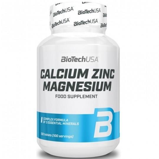 Biotech Nutrition Calcium-Zinc-Magnesium 100 таб.