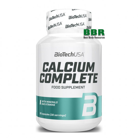 Biotech Nutrition Calcium Complete 90 капс.