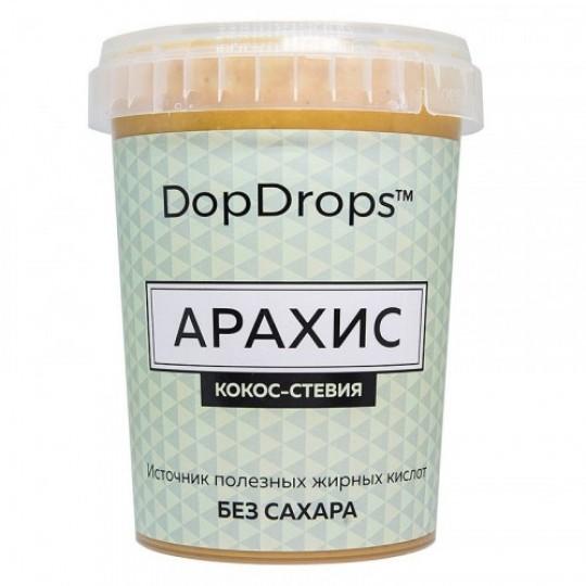 DopDrops Паста арахис-кокос 1000 г стевия