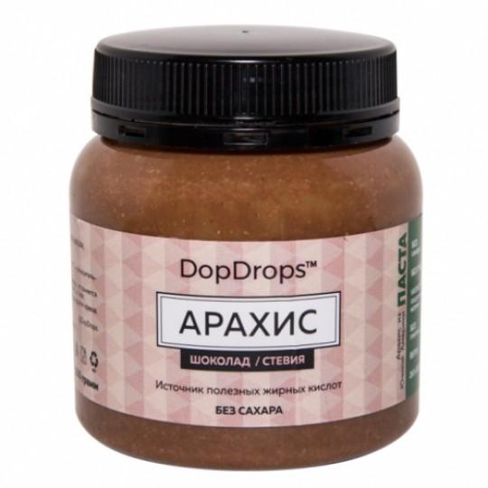DopDrops Арахисовая паста 250 г шоколад-стевия