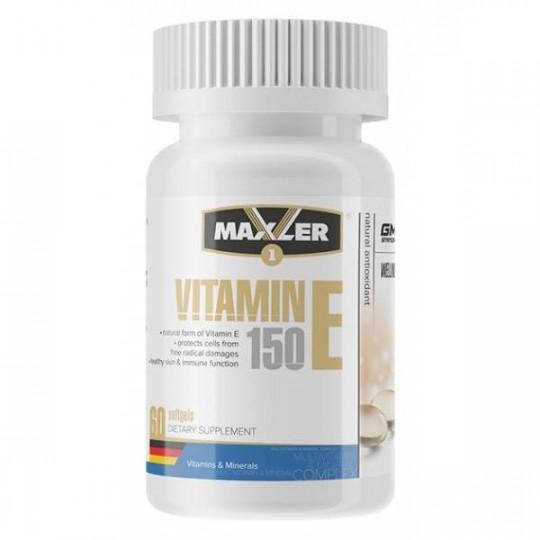 Maxler Vitamin E 150 mg 60 кап.