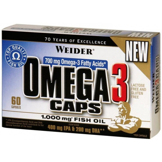 Weider Omega 3 60 капсул