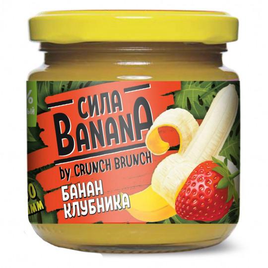 CRUNCH-BRUNCH Джем Сила Банана банан-клубника 200 г