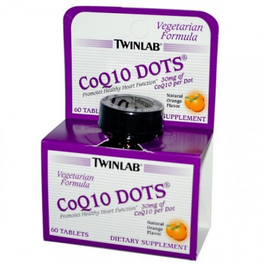 Twinlab Coenzyme Q10 Dots 60 таб.