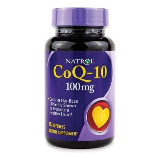 Natrol Coenzyme Q10 100 mg 45 капс.