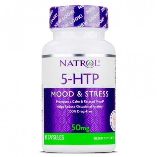 Natrol 5-HTP 50 mg 45 капс.