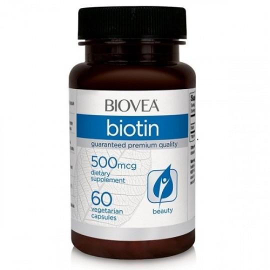 Biovea Biotin 500 mcg 60 капс.