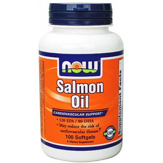 Now Salmon Oil 1000 мг 100 капсул