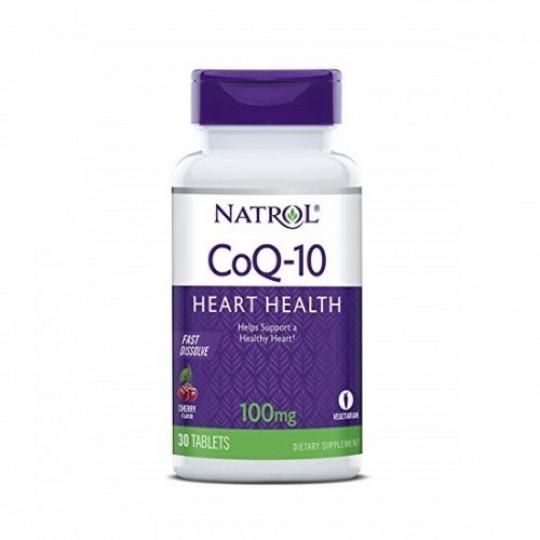 Natrol Coenzyme Q10 Fast Dissolve 100 mg 30 таб.