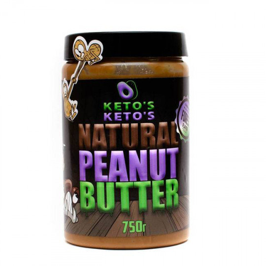 Ketos Natural Peanut Butter Forest 750 г