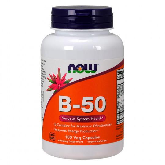 Now foods Vitamin B-50 100 капс.