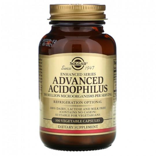 Solgar Улучшенный Ацидофилин 100 Капсул