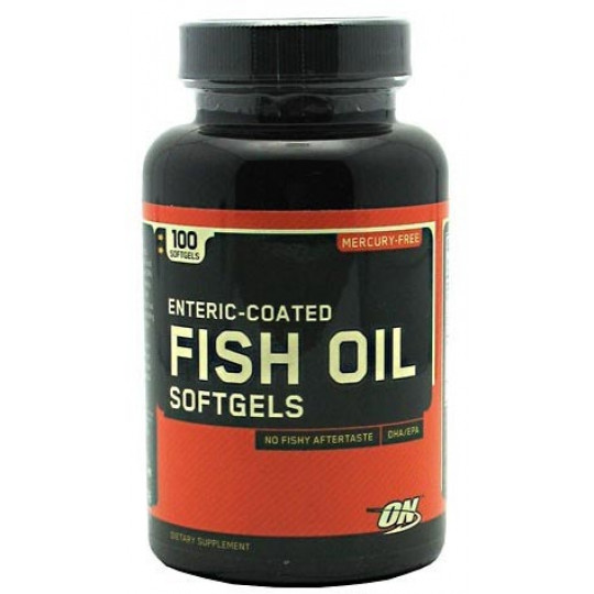 Optimum Nutrition Fish Oil Softgels 100 капсул