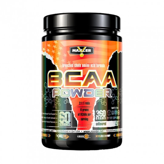 Maxler BCAA Powder flavored 420г.