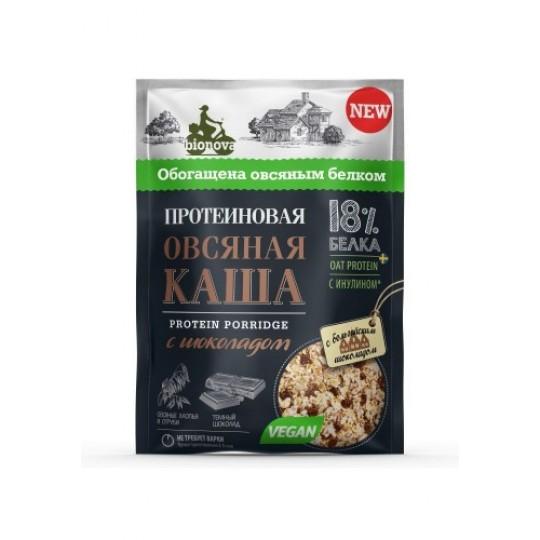 Bionova Протеиновая каша 40 г овсяная с шоколадом