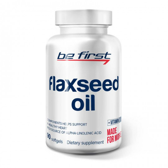 Be First Flaxseed Oil 90 капс.
