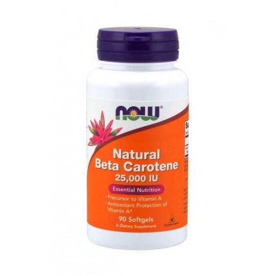 Now foods Beta-Carotene 90 капс.