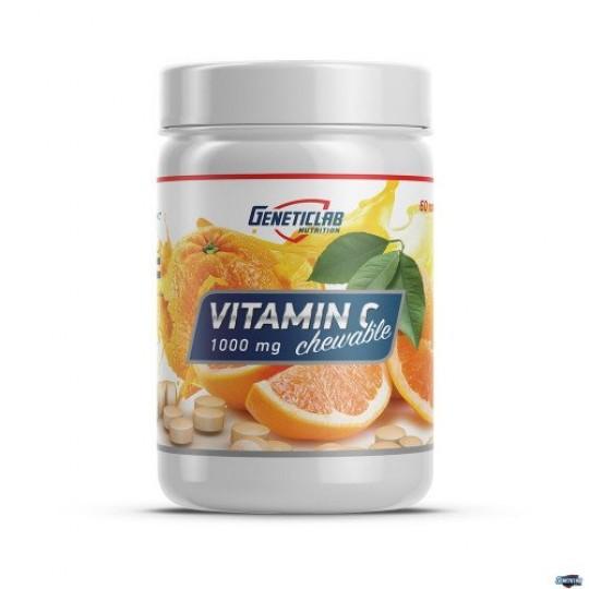 GeneticLab Nutrition Vitamin C 60 таб.