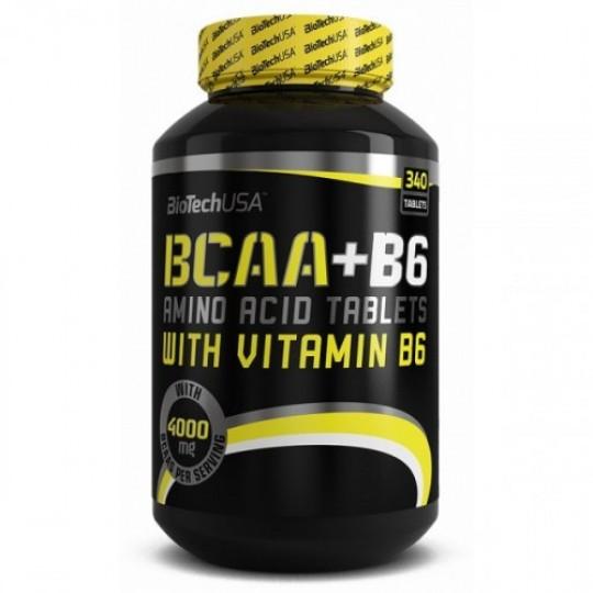 Biotech Nutrition BCAA+B6 340 таб.