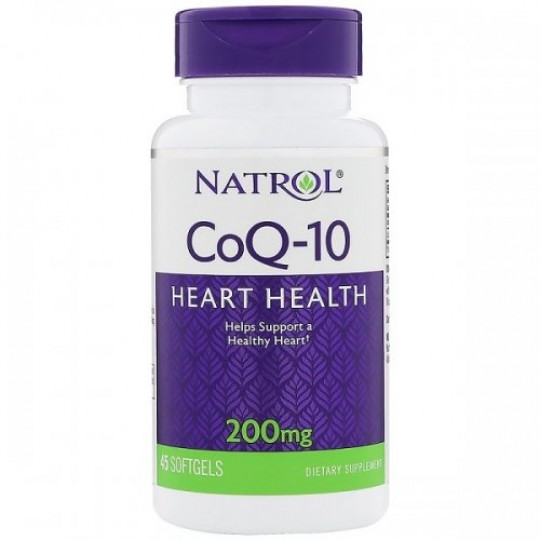 Natrol Coenzyme Q10 200 mg 45 капс.