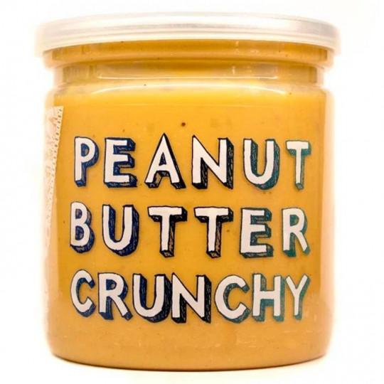 Grizzly Nuts арахисовая паста хрустящая Crunchy 200 г