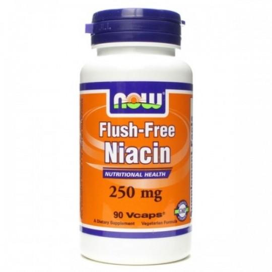 Now foods Niacin Flush-Free 250 mg 90 капс.