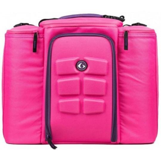 6 pack fitness Innovator 500 Pink-Purple Сумка для еды с контейнерами розовый-фиолетовый