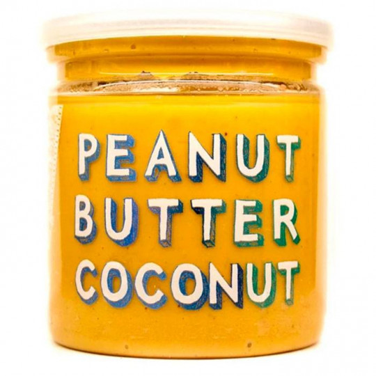 Grizzly Nuts арахисовая паста с кокосом Coconut 200 г