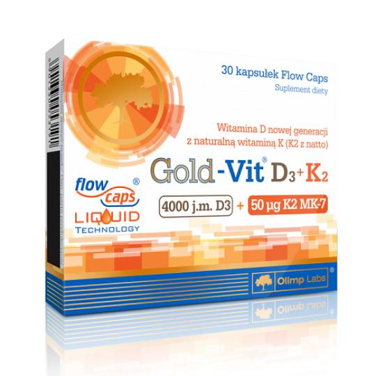 Olimp Gold-Vit D3+K2 30 капс.