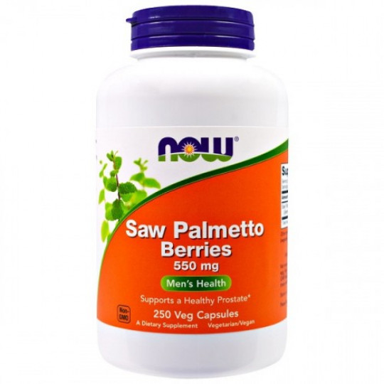 Now foods Saw Palmetto 550 mg 250 капс.