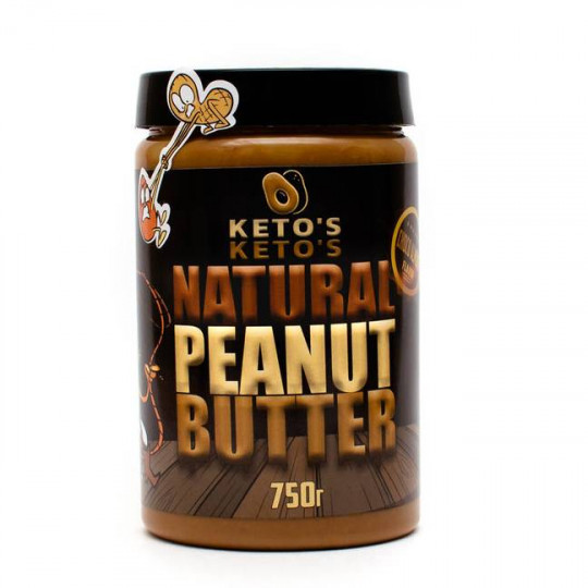 Ketos Natural Peanut Butter Choco 750 г