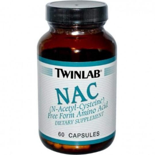 Twinlab NAC 60 таб.