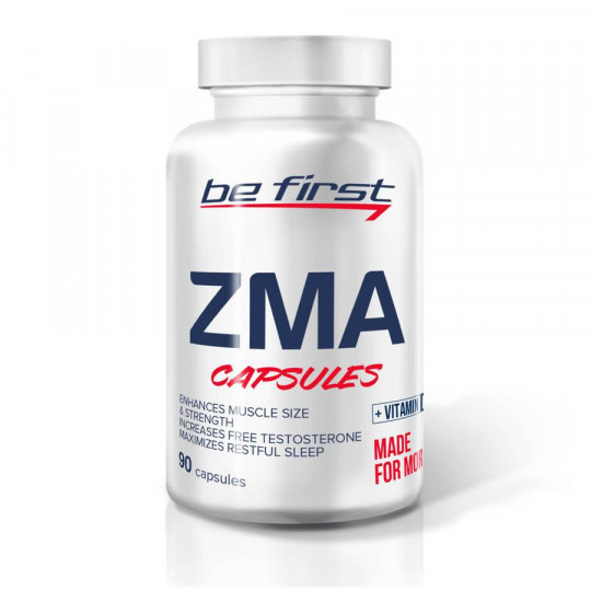Be First ZMA+vitamin D3 90 капс.
