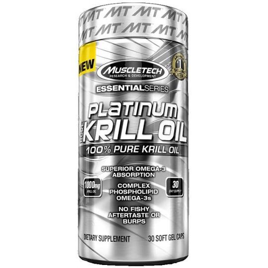 MuscleTech Platinum Pure Krill Oil 30 капсул