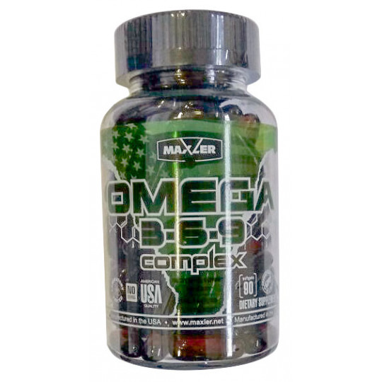 Maxler USA Omega 3-6-9 Сomplex 90 гелевых капсул