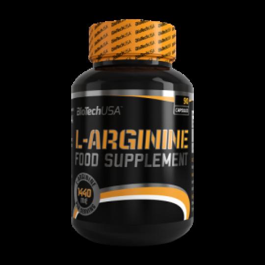 Biotech Nutrition L-Arginine 90 капс.