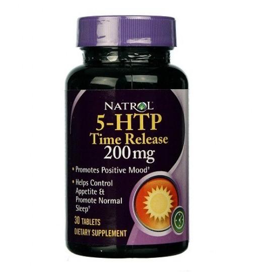 Natrol 5-HTP 200 mg 30 таб.