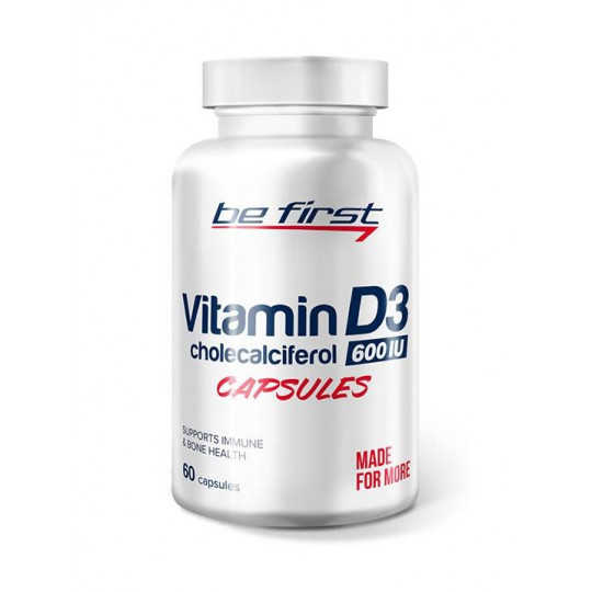 Be First Vitamin D3 60 капс.