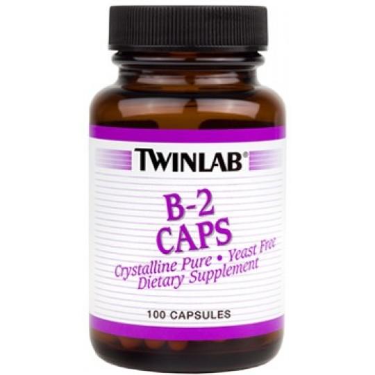 Twinlab B-2 100 mg 100 капс.