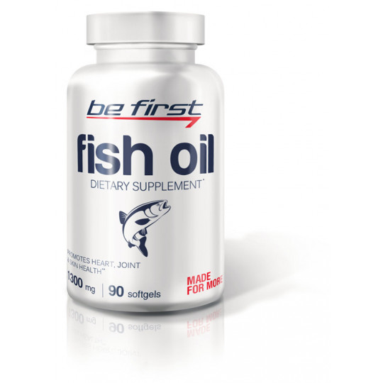 Be First Fish Oil 1300 мг 90 гелевых капсул
