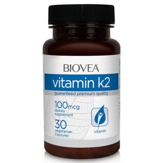 Biovea Vitamin K2 100 mcg 30 капс.