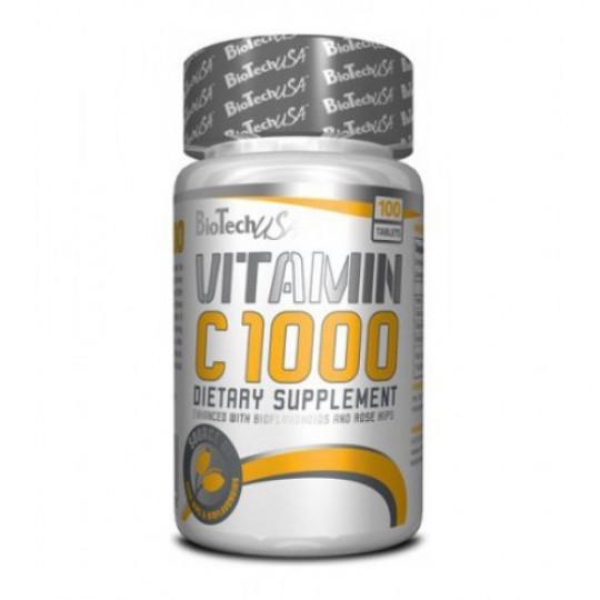 Biotech Nutrition Vitamin C 1000 30 таб.
