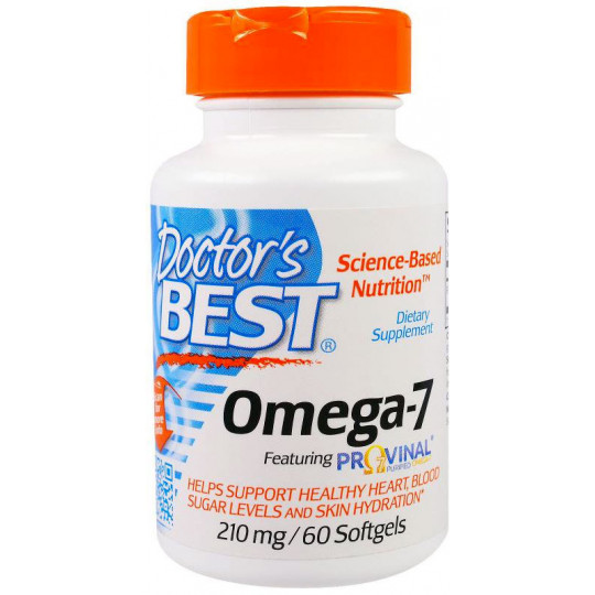 Doctor's Best Best Omega-7 210 мг 60 гелевых капсул