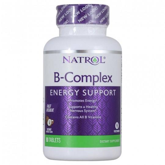 Natrol B-Complex Fast Dissolve 90 таб.