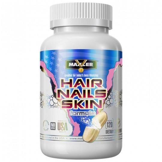 Maxler Hair, Nails and Skin Formula 120 таб.