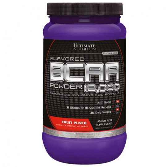 Ultimate Nutrition BCAA 12000 Powder Flavored