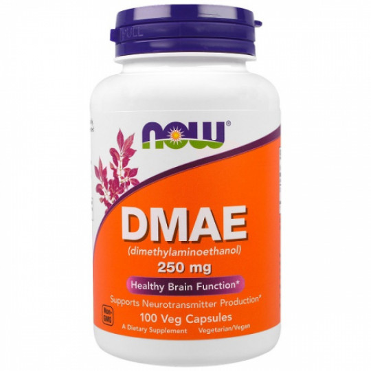 Now foods DMAE 250 mg 100 капс.