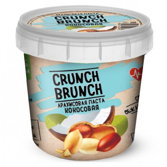 CRUNCH-BRUNCH Арахисовая паста Кокосовая 1000 г